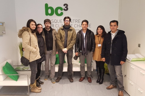 UNTRM professors started second phase of training on Climate Change in Spain