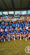 Estudiantes y trabajadores de la Untrm portaron antorcha olímpica de Juegos Panamericanos
